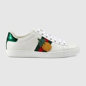 Gucci kid's Ace Embroidered sneakers